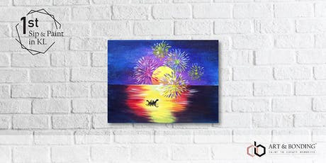 Sip & Paint Night : Firework Gazer tickets
