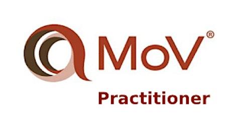 Management of Value (MoV) Practitioner 2 Days Training in Montreal billets