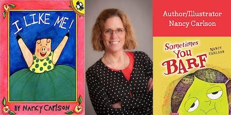 Author/Illustrator Nancy Carlson tickets