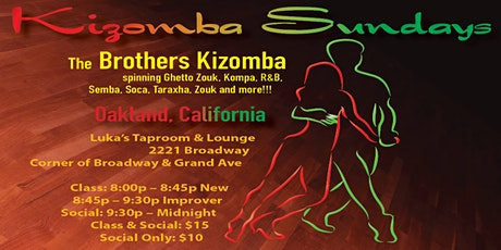Kizomba Sundays tickets
