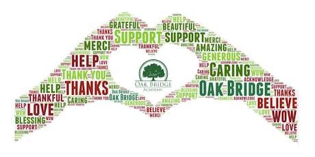 Oak Bridge Academy's Donor Appreciation Night & Open House! tickets