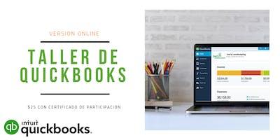 Taller de QuickBooks