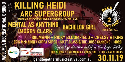 Band Together Music Festival 2019