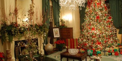 NC Governor's Mansion Holiday Open House - Raleigh Homeschoolers Group Tour