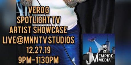 Vero G Spotlight TV: NYE Artist Showcase #Live @MNN TV STUDIOS #NYE #NYC tickets
