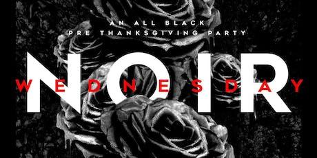#NoirAtThePark All Black Pre Thanksgiving Party tickets