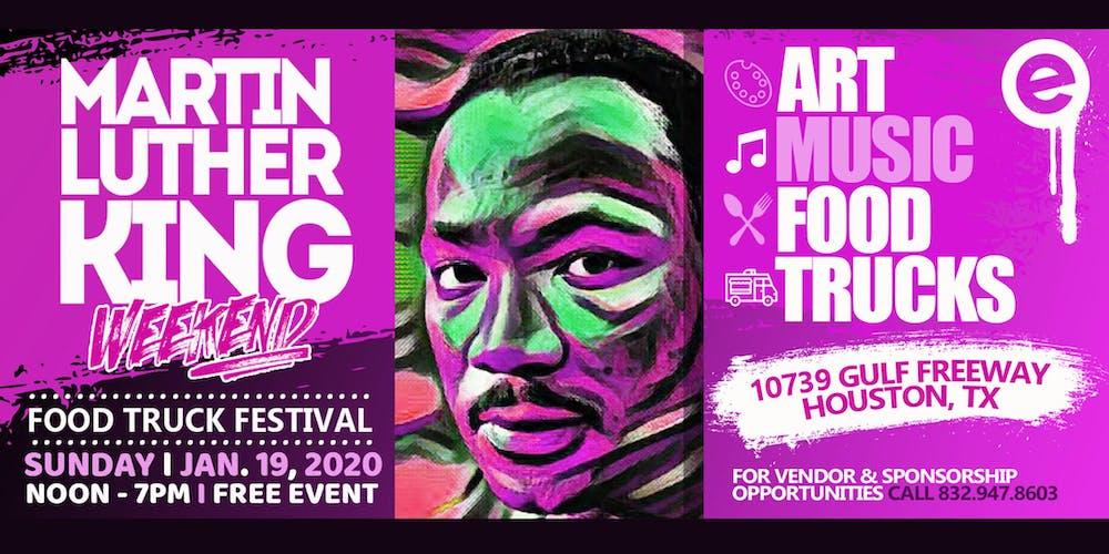 Food Truck Festival 2020.Mlk Weekend Celebration Tickets Sun Jan 19 2020 At 12 00