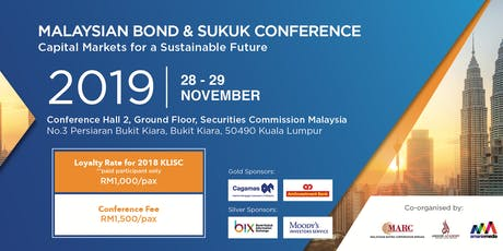 MALAYSIAN BOND & SUKUK CONFERENCE 2019 tickets