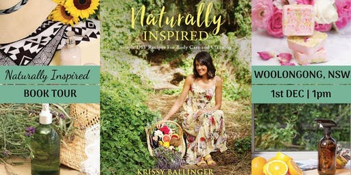 Naturally Inspired Author Talk – Wollongong, NSW