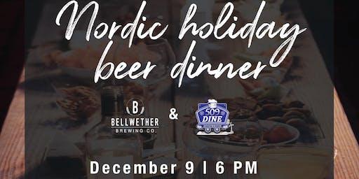 Nordic Beer dinner w/ 509 dine