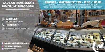Brunch with Vauban Real Estate Bangkok