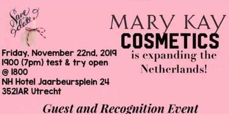 Cosmetic Company Mary Kay Cosmetics - Expanding in the Netherlands tickets
