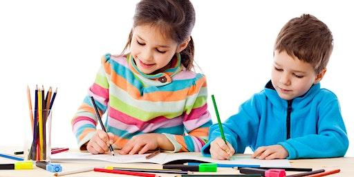Cartooning Workshop ages 5-9