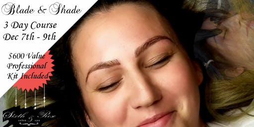 Microblading & Shading 3 Day Training December 7 - 9