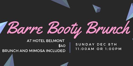 Barre, Booty & Brunch  tickets