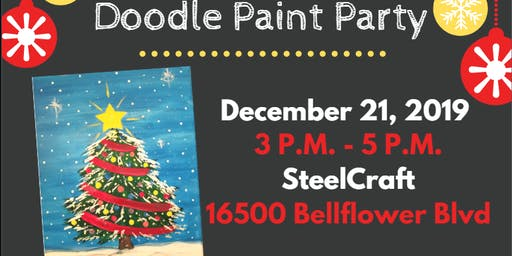 Doodle Paint Party - SteelCraft Blf