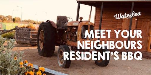 Meet your Neighbours - Waterlea Resident's BBQ