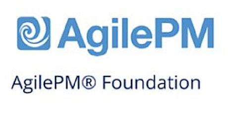 Agile Project Management Foundation (AgilePM®) 3 Days Training in Ottawa billets