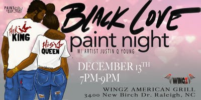 Black Love Paint Night-Raleigh