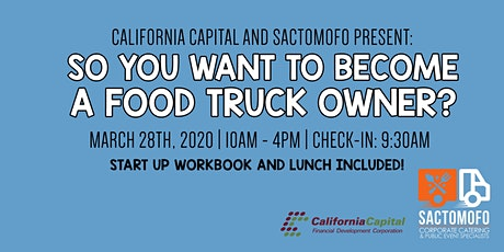 So You Want To Become A Food Truck Owner? All day workshop tickets