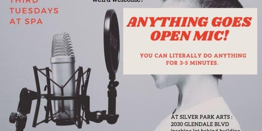 Anything Goes Open Mic at SPA