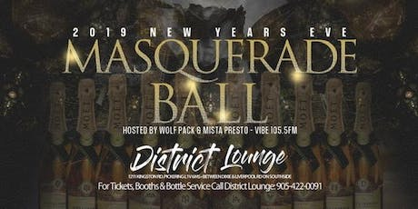 2020 NYE MASQUERADE BALL tickets