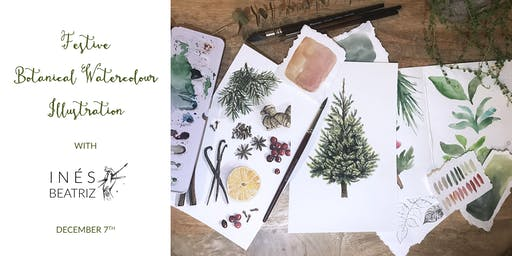Festive Botanical Watercolour Workshop