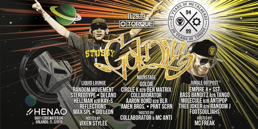 Torque 20 Year Anniversary feat. Goldie