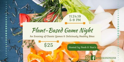 Plant-Based Game Night