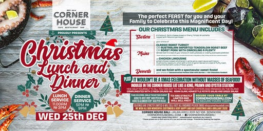 Christmas Lunch and Dinner at The Corner House Seminyak, Bali!