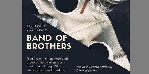 Band of Brothers - Men's Bible Study and Free Breakfast