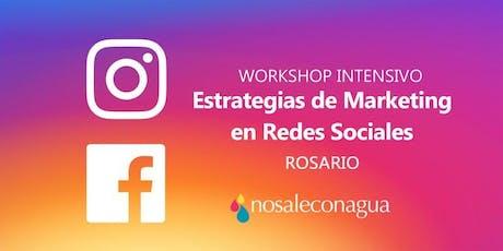 Estrategias de Marketing en Redes Sociales #Rosario entradas