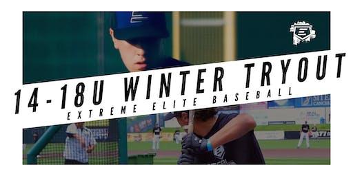 14-18U Baseball Winter Tryout