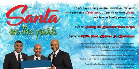 Santa in the park by Team SPICY tickets