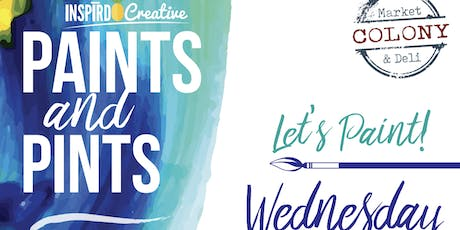 Inspird Creative Art Bar at The Colony Market and Deli tickets