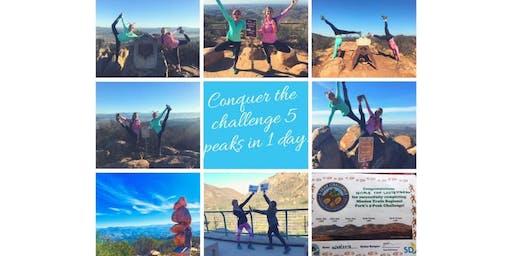 Holiday 5 Peak Challenge