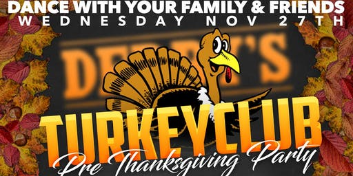 TurkeyClub Pre Thanksgiving Party Dj Devin Hype