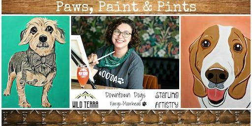 Paws, Paint & Pints 11/25