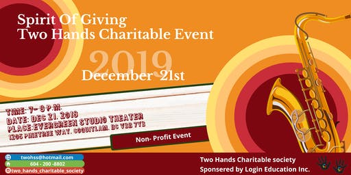 Spirit of Giving- Two Hands Charitable Event