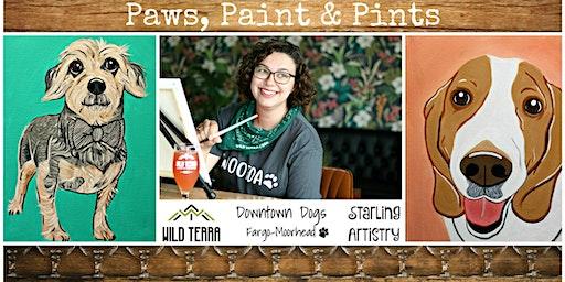 Paws, Paint & Pints 01/13