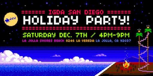 IGDA SD | Holiday Bonfire