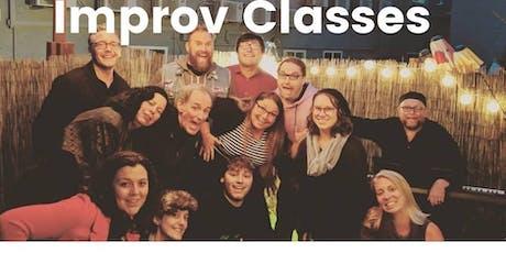 Intro. to Improv Classes tickets