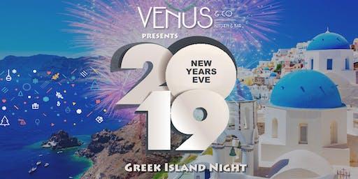 New Years Eve - Greek Island Night (Early Bird Tickets)