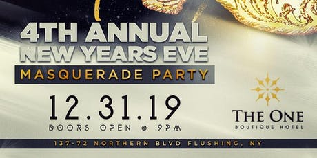 Last Call 2019 - NYE Masquerade Party tickets