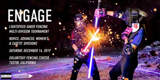 ENGAGE Lightspeed-saber fencing competition