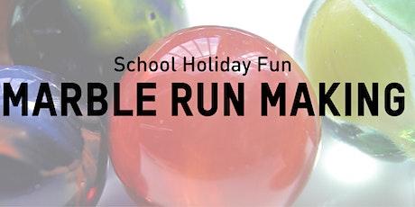 Marble Run Making tickets