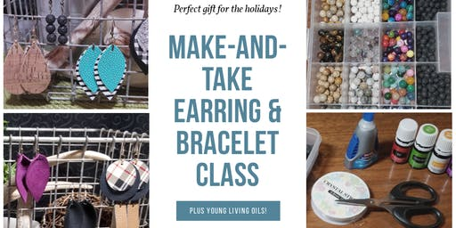 Make-and-Take Earring and Bracelet Class