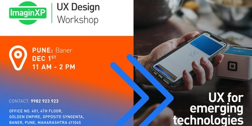 ImaginXP: UX Design Workshop in Pune, Baner