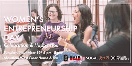 Women's Entrepreneurship Day: Happy Hour & Celebration tickets