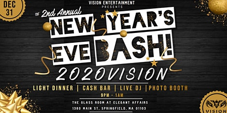 The 2nd Annual 2020VISION New Year's Eve Bash! tickets